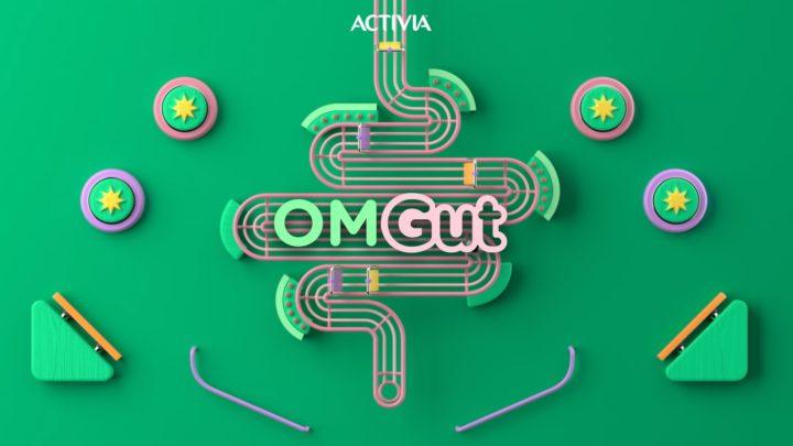 Nuova campagna digital e social per Activia, OMGut!