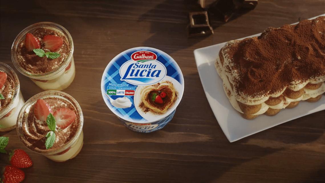 Tiramisu Alle Fragole Ricetta Galbani.Fantasia In Cucina Con Il Mascarpone Santa Lucia Galbani Ciaoup News Advertising Influencer
