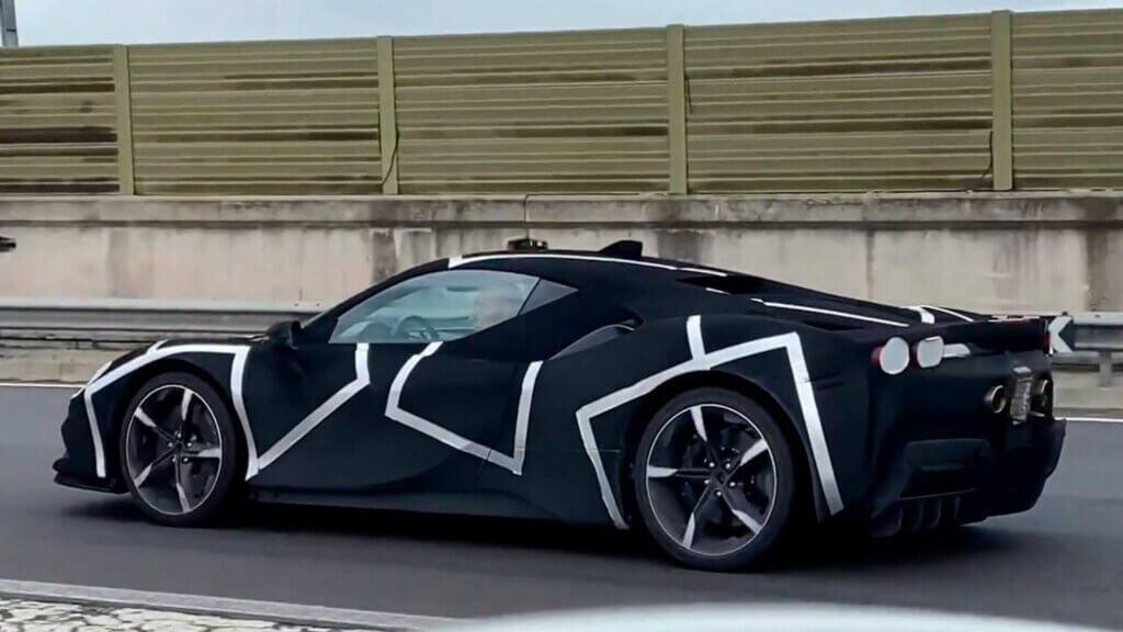 Protoripo Ferrari V6